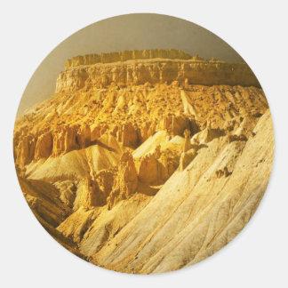 Mt. Garfield Classic Round Sticker