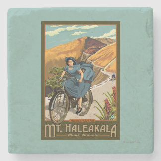 Mt. Haleakala Bicycle Rides Hawaii Stone Coaster