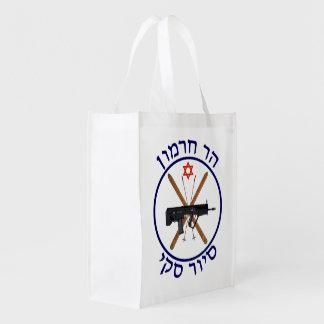 Mt. Hermon Ski Patrol Reusable Grocery Bag