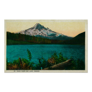 Mt Hood from Lost Lake ORMt Hood OR Print
