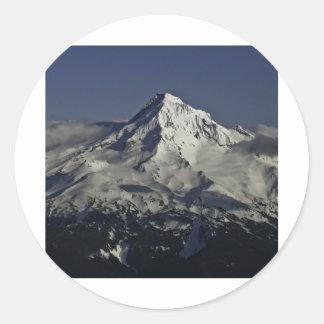Mt. Hood, Oregon Round Sticker