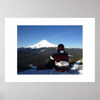 Mt Hood Poster