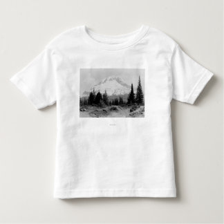 Mt. Hood View from Government Camp Photograph Toddler T-Shirt