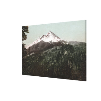 Mt. Jefferson, Oregon Mountain View Canvas Print