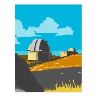 Mt John Observatory Lake Tekapo WPA Postcard