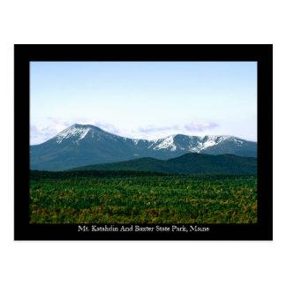 Mt. Katahdin Maine Postcard
