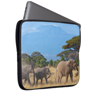Mt.Kilimanjaro Elephants Laptop Sleeves