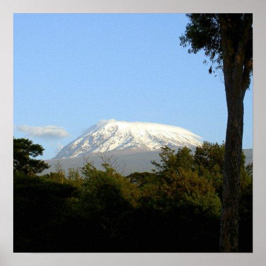 MT. Kilimanjaro Poster