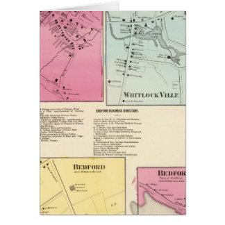 Mt Kisco, Katonah, Whitlock Ville, Bedford Greeting Card