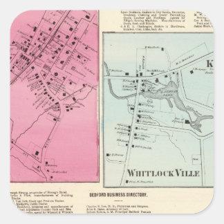 Mt Kisco, Katonah, Whitlock Ville, Bedford Square Sticker