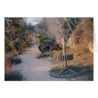 Mt Lowe Path Note Card
