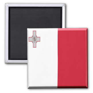 MT - Malta - Flag Magnet