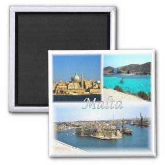 MT * Malta - Valletta Magnet