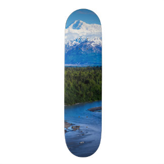 Mt. McKinley Alaska 21.6 Cm Skateboard Deck