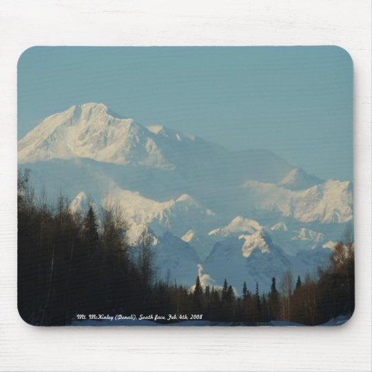 Mt. McKinley (Denali), South face, Fe... Mouse Mat