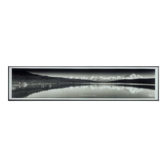 Mt. McKinley Park & Alaska Range Yard Long Photo Poster