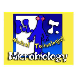 MT - MICROBIOLOGY - MEDICAL TECHNOLOGIST POSTCARD
