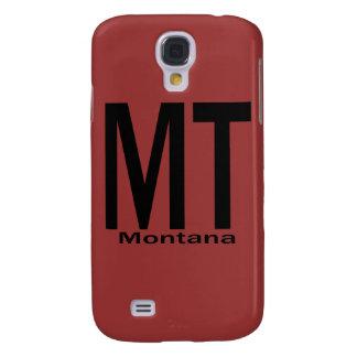 MT Montana plain black Galaxy S4 Case