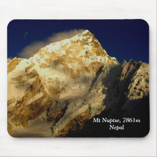 Mt Nuptse Mouse Pad