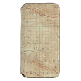 Mt Pinos quadrangle showing San Andreas Rift Incipio Watson™ iPhone 6 Wallet Case