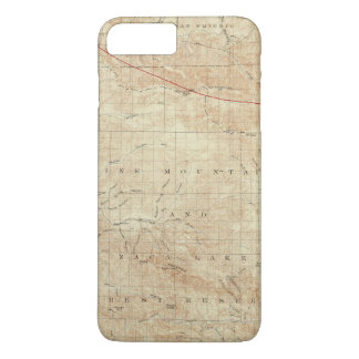 Mt Pinos quadrangle showing San Andreas Rift iPhone 8 Plus/7 Plus Case