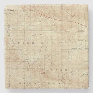 Mt Pinos quadrangle showing San Andreas Rift Stone Coaster