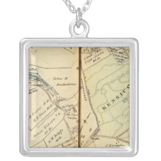 Mt. Pleasant, New York Silver Plated Necklace
