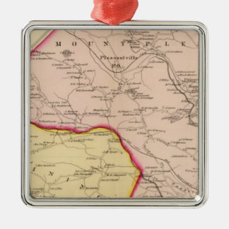 Mt Pleasant, Ossining, New York Christmas Ornament