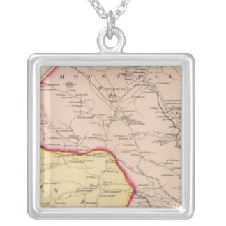 Mt Pleasant, Ossining, New York Silver Plated Necklace