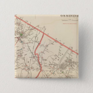 Mt Pleasant, Ossining towns 15 Cm Square Badge