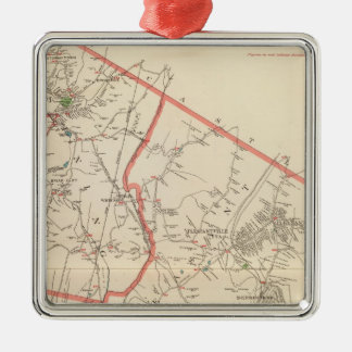 Mt Pleasant, Ossining towns Christmas Ornament