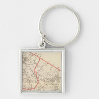 Mt Pleasant, Ossining towns Key Ring