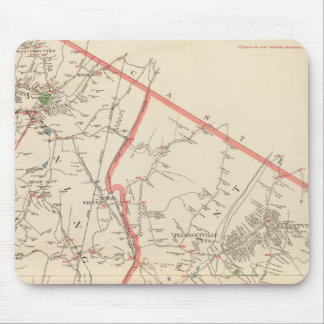 Mt Pleasant, Ossining towns Mouse Mat