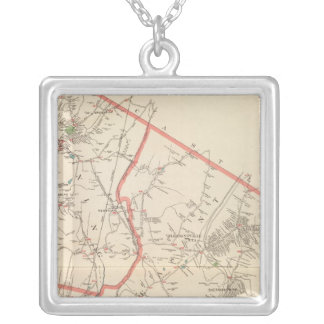 Mt Pleasant, Ossining towns Silver Plated Necklace