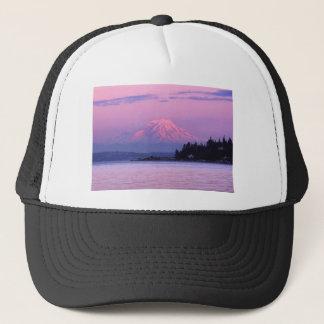 Mt. Rainier at Sunset, Washington State. Cap