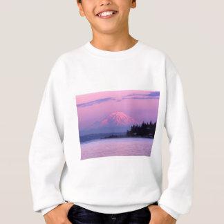 Mt. Rainier at Sunset, Washington State. Sweatshirt