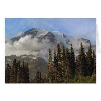 Mt Rainier Stationery Note Card