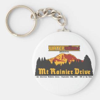 Mt Rainier Drive 2010 Key Chains