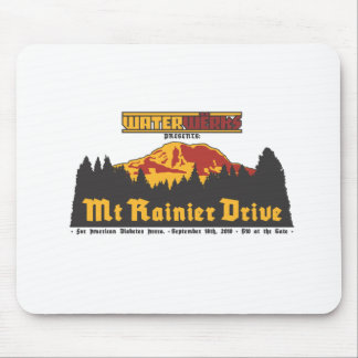 Mt Rainier Drive 2010 Mousepad