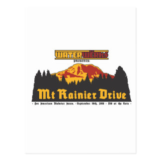 Mt Rainier Drive 2010 Postcard