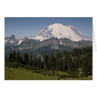 Mt. Rainier National Park Notecard Stationery Note Card