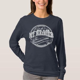Mt. Rainier Old Circle White T-Shirt