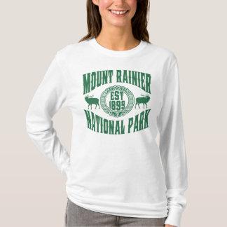 Mt. Rainier Old Style Green T-Shirt