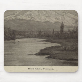 Mt Rainier Steilacoom Beach Mouse Pad