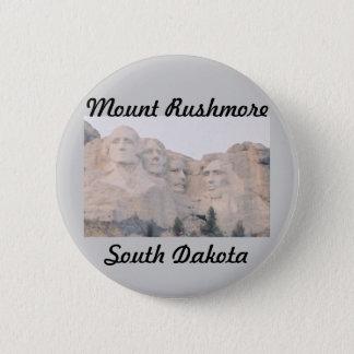 Mt. Rushmore 6 Cm Round Badge