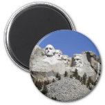 Mt Rushmore 6 Cm Round Magnet