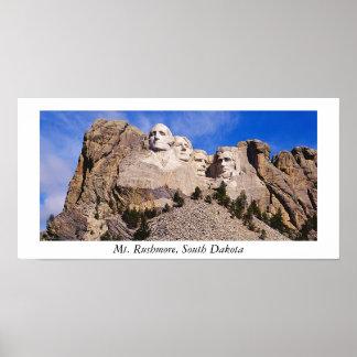 mt. rushmore, Mt. Rushmore, South Dakota Poster