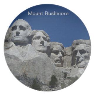 MT Rushmore plate