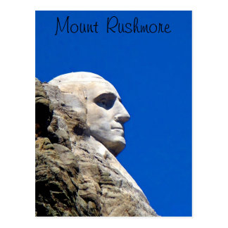 Mt Rushmore postcard