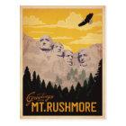 Mt. Rushmore, South Dakota Postcard
